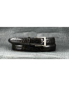Men's In Stock Alligator Dress Belts 1-1/4""